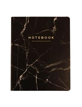 Black Marble Notebook 8x10 by Dormify
