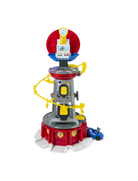 Paw Patrol, Mighty Pups Super Pa Ws Lookout Tower Playset With Lights And Sounds, For Ages 3 And Up by Paw Patrol