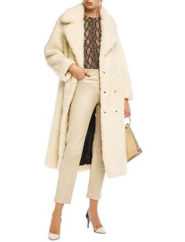 Faux Shearling Coat by Ainea