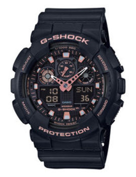 Black And Gold Watch by G Shock