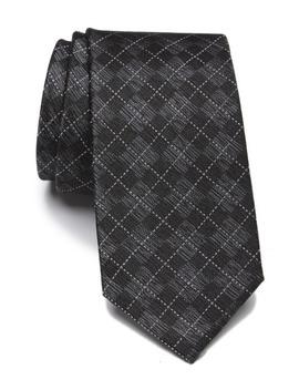 Silk Grid Tie by Ben Sherman
