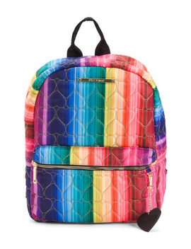Nylon Rainbow Backpack by Tj Maxx