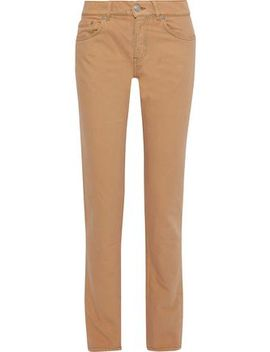 Mid Rise Straight Leg Jeans by Ganni