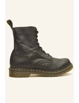 Pascal 8 Eye Boot Black Black by Dr Martens