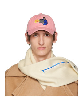 pink-scene-just-fit-cap by ader-error