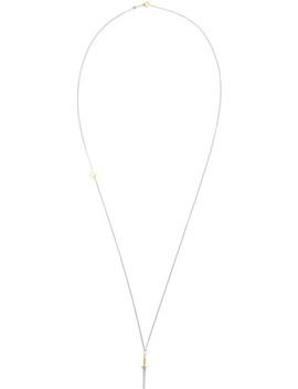 Silver & Gold Gladius Necklace by Ugo Cacciatori