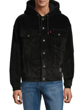 levis-x-justin-timberlake-oversized-faux-shearling-trucker-jacket by levis