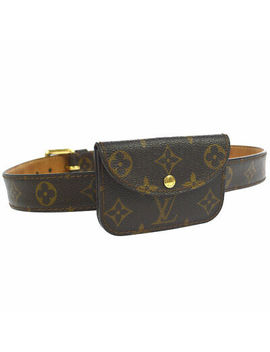 Louis Vuitton Ceinture Pochette Belt Bum Bag Monogram M6933 U Vintage Ak37388 by Ebay Seller