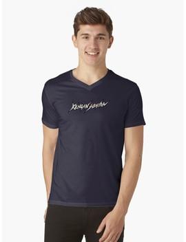 Kengan Ashura V Neck T Shirt by Symbolized