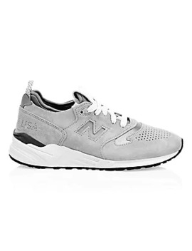 999 Made In Usa Suede Sneakers by New Balance