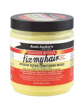 "<Span><Span>Aunt Jackie's Fix My Hair Intensive Repair</Span><Br><Span>Conditioning Masque   15oz</Span></Span><Span Style=""Position: Fixed; Visibility: Hidden; Top: 0px; Left: 0px;"">…</Span> by 15oz…"