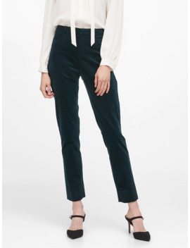 Modern Sloan Skinny Fit Velvet Pant by Banana Repbulic