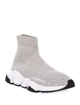 Stretch Knit High Top Sock Trainer by Balenciaga