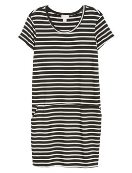 Knit Shift Dress (Regular & Petite) by Caslon