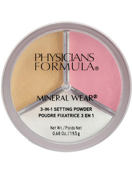 Mineral Wear 3 In 1 Setting Powder by Physicians Formula