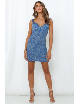 Out In The Sun Dress Blue by Hello Molly
