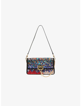 Charm Bag In Satin And Leather by Givenchy