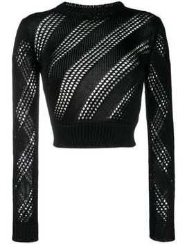 Knitted Mesh Top by Saint Laurent