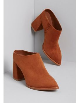 Smooth Step Suede Upper Mule by Sbicca