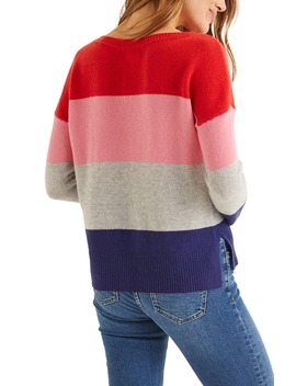 Melinda Stripe Cashmere Sweater by Boden