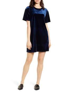 Velvet Shift Dress by Stateside