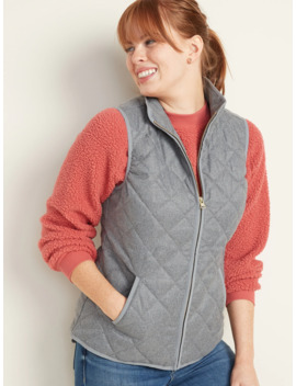 Lightweight Diamond Quilted Vest For Women by Old Navy