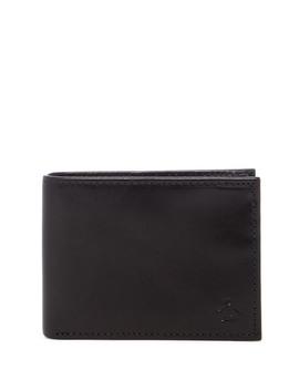Rfid Slim Bifold Leather Wallet by Original Penguin