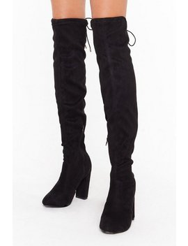 Block Heel Stretch Immi Otk Boot by Nasty Gal