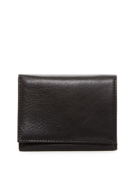 Trifold Leather Wallet by Bosca