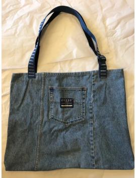Custom Vintage Guess Tote Bag 1 Of 1 by Vintage  ×  Guess  ×  Custom  ×