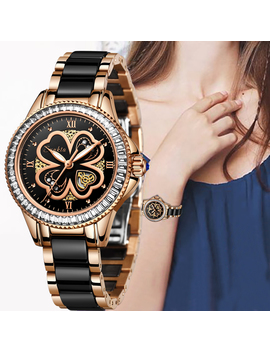Sunkta New Rose Gold Watch Women Quartz Watches Ladies Top Brand Luxury Female Wrist Watch Girl Clock Wife Gift Montre Femme by Ali Express.Com