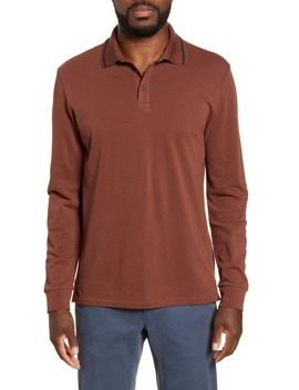 Superfine Long Sleeve Piqué Polo by Bonobos