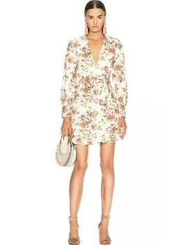 Nwt Zimmermann Sunny Flounce Dress Floral Size 2/Medium $630 New Longsleeve by Ebay Seller