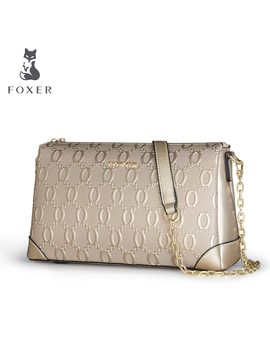 Foxer Fashion Women's Cow Leather Shoulder Bag Luxury Women Crossbody Bags Ladies Messenger Bag Feminina For Bags by Ali Express.Com