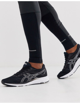Asics Running Gel Excite 6 Sneakers In Black by Asics