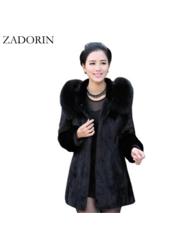 4 Xl Women Winter Coat 2019 Fashion Casual Warm Faux Fur Coat Hooded High Quality Plus Size Ladies Fur Jackets Black Overcoat by Ali Express.Com