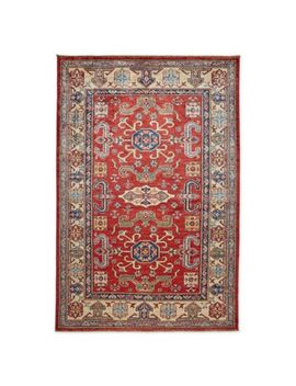 Feizy Rugs One Of A Kind Super Kazak 3'11 X 6' Area Rug In Red/Ivory by Bed Bath And Beyond