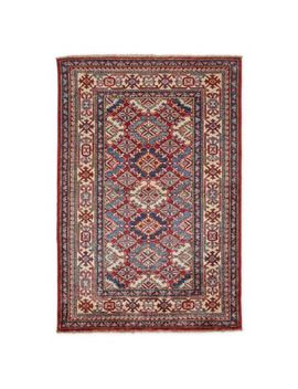 Feizy Rugs One Of A Kind Super Kazak 3'1 X 4'6 Area Rug In Red/Ivory by Bed Bath And Beyond