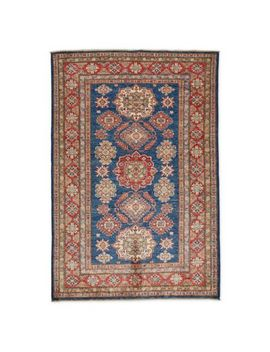 Feizy Rugs One Of A Kind Super Kazak 4' X 6' Area Rug In Blue/Red by Bed Bath And Beyond