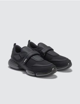 Gabardine Sneaker by Prada