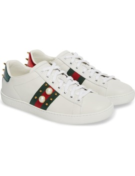 New Ace Low Top Sneaker by Gucci