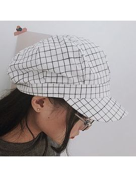 Oktokki   Plaid Newsboy Cap by Oktokki