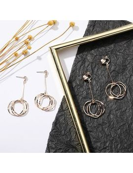 Coolgirl   Alloy Hoop Dangle Earring (Various Design) by Coolgirl