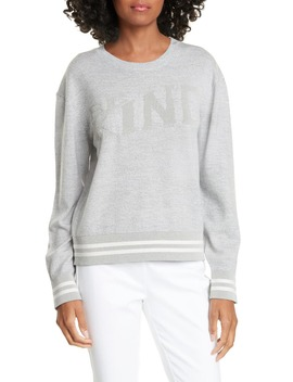 Reflective Graphic Merino Wool Blend Sweater by Rag & Bone
