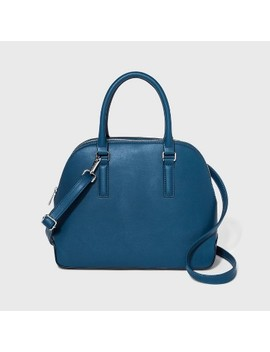 Triple Compartment Dome Satchel Handbag   A New Day™ by A New Day