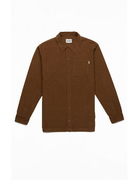 Rhythm Corduroy Button Up Shirt by Pacsun