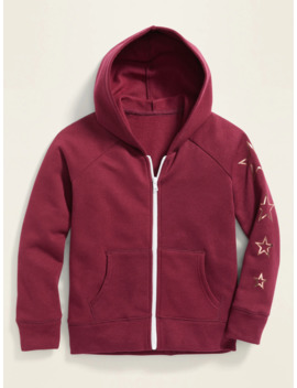 Graphic Zip Hoodie For Girls by Old Navy