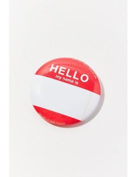 Vintage Hello Pin by Urban Renewal