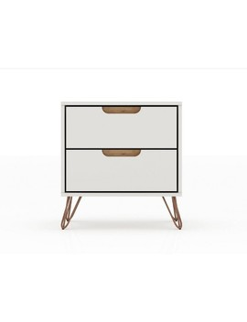 2.0 Rockefeller Nightstand   Manhattan Comfort by Manhattan Comfort