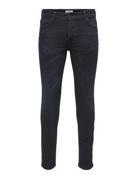 Loom 4341 Blue Black Slim Fit Jeans by Only & Sons
